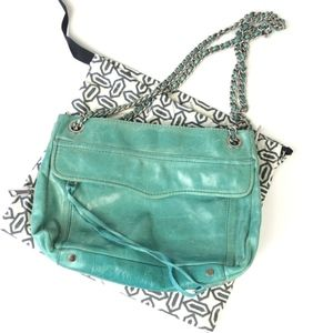 Rebecca Minkoff | Crossbody Shoulder Bag Teal Blue